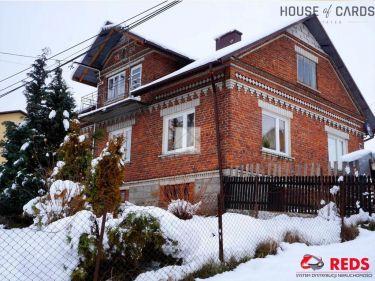 Dom murowany na 13,5-arowej działce w Krzemienicy