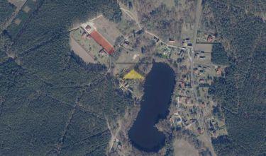 Działka blisko jeziora,w otulinie lasów, RUDNA