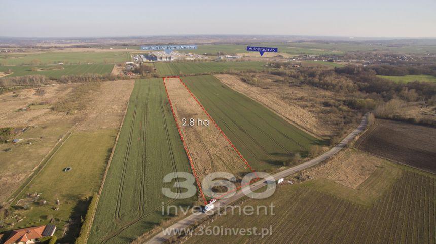 Smolęcin działka 2,8 ha - zdjęcie 1