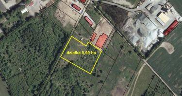 Działka przemysłowa i usługowa, 1 ha, Koszalin