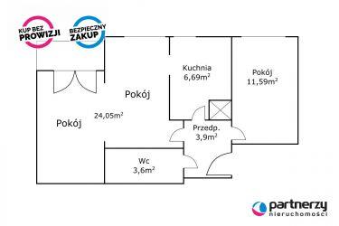 Gdańsk Śródmieście, 499 000 zł, 49.83 m2, z miejscem parkingowym