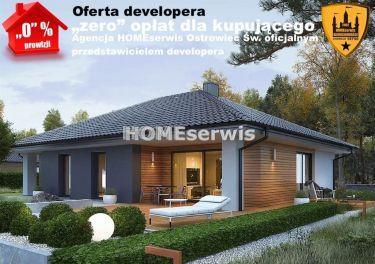 Nowe domy, OFERTA DEVELOPERA, pow.109,88 m2, dział