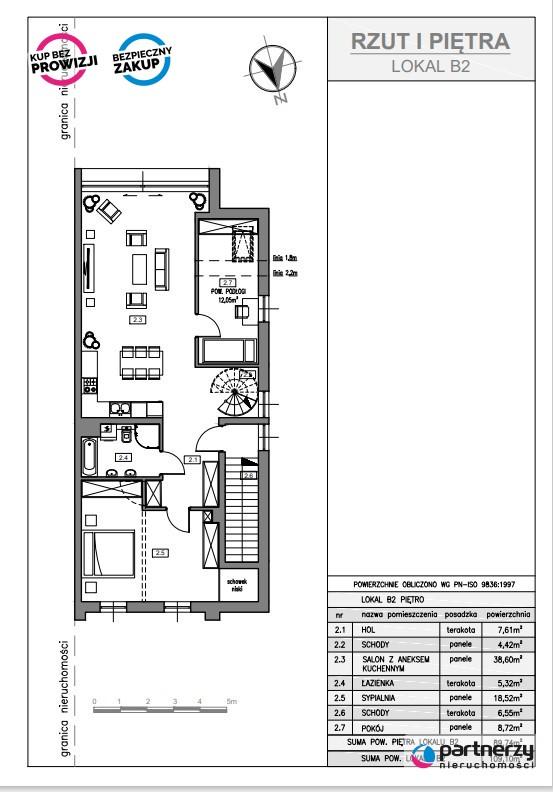 Żukowo, 533 500 zł, 110 m2, 4 pokojowe miniaturka 6