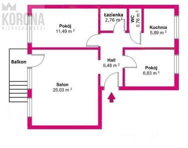 Białystok Białostoczek, 345 000 zł, 60.5 m2, oddzielna kuchnia
