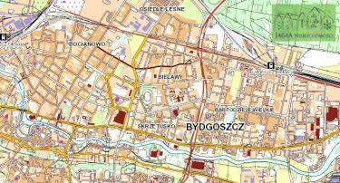 Działka developerska 1457m2 Bydgoszcz Bielawy MPZP