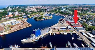 Port rybacki w Kołobrzegu działka o pow. 4.455 m2