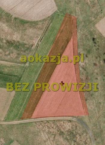 36ar działka rolna Żupawa gm. Grębów