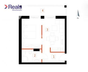 Kompaktowe 2 pokoje w nowej inwestycji