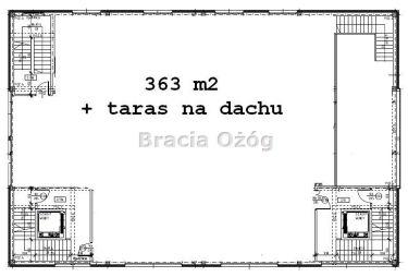 Rzeszów, 15 600 zł, 363 m2, biurowy