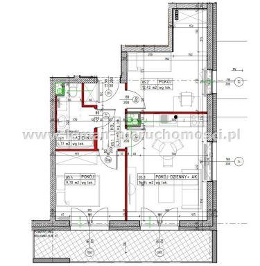 Lublin Bronowice, 383 760 zł, 49.2 m2, z garażem pod budynkiem