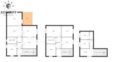 Dom z ogrodem 9 pokoi 2 kuchnie 2 łazienki-BOREK