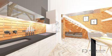 Poddasze z projektem na  8 mieszkań CENTRUM