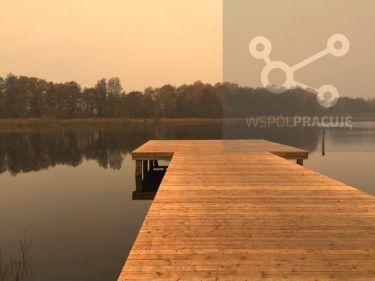Wyprzedaż działek rekreacyjnych nad jeziorem.