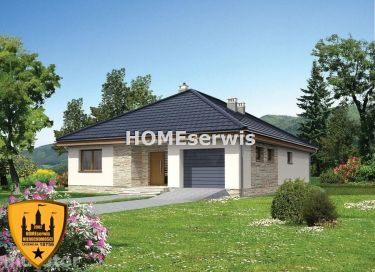 Nowy dom 194 m2 działka 1069 m2 stan deweloperski