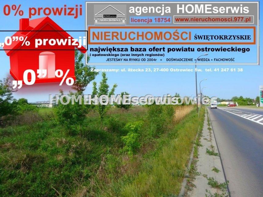 Działka inwestycyjna 4100m2 Ostrowiec - zdjęcie 1