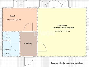 Sieradz, 239 000 zł, 37.2 m2, kuchnia z oknem