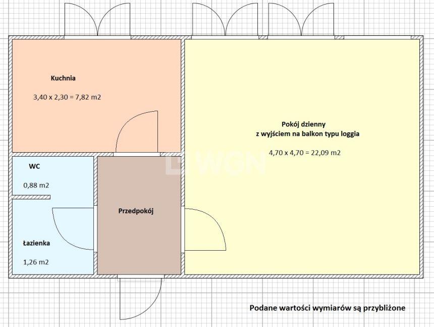 Sieradz, 239 000 zł, 37.2 m2, kuchnia z oknem - zdjęcie 1