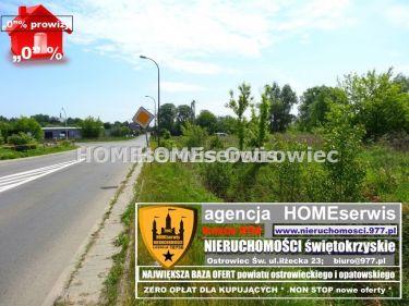 Działka inwestycyjna 4100 m2 Ostrowiec