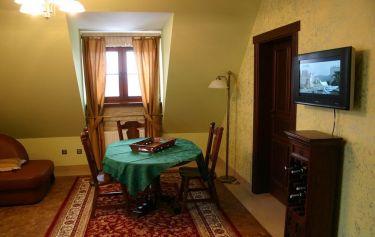 Apartament w Kazimierzu Dolnym z widokiem na Wisłę