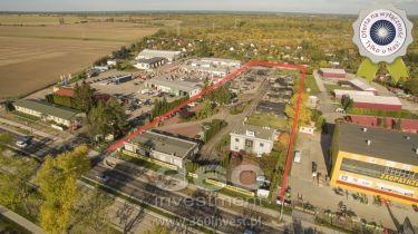 Dzałka 1,16 ha, 3budynki biurowo-handlowe 634m2