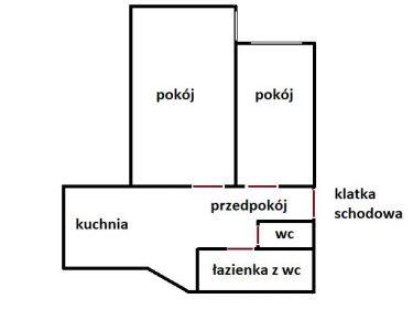 Wrocław Krzyki, 395 000 zł, 73 m2, z cegły