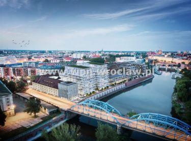 Nowe 2pok mieszkanie z widokiem na Odrę Centrum 0%