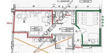 Centrum - pokój dla osoby, zespołu /małej firmy 2-