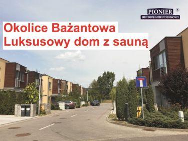 DOM Z SAUNĄ - WYSOKI STANDARD - OKOLICE BAŻANTOWA