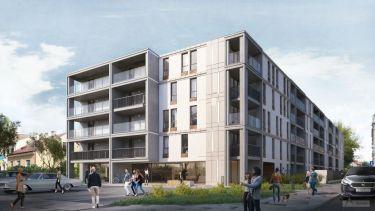 Mieszkania57,55 m2, 3 pokoje, Centrum