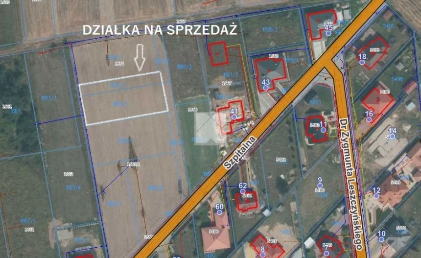Lubaczów działka budowlana osiedle Pod Borem miniaturka 4