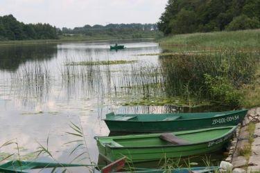 działki rekreacyjne nad Jeziorem Dobre