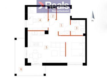 3-pokojowe mieszkanie z dużym balkonem