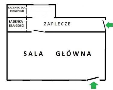 Wrocław Plac Grunwaldzki, 5 000 zł, 70 m2, parter